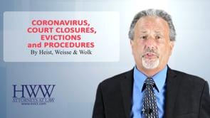 Coronavirus: Court Closures, Evictions, and Procedures